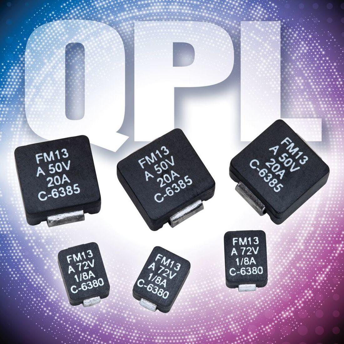 AEM Inc.'s Surface-Mount Solid Body Fuses Attain Qualified Products List (QPL) Status image
